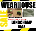 LOT OF 10 WHOLESALE AUTHENTIC LONGCHAMP BAGS